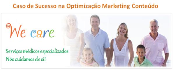 Caso de Sucesso na Optimização Marketing Conteúdo