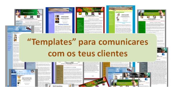 """""""Templates"""" para comunicares de forma profissional"""