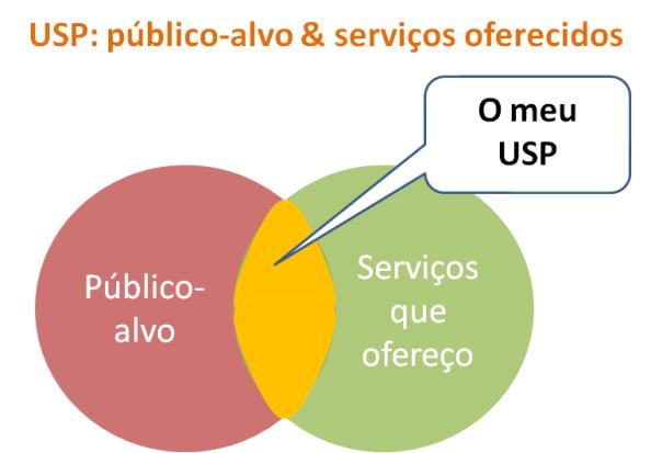 USP: Público-alvo & Serviços oferecidos para negócio online