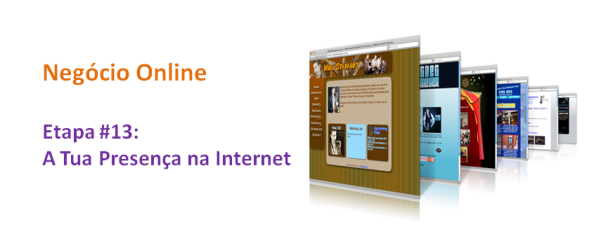 Presença Internet, imagem de Destaque