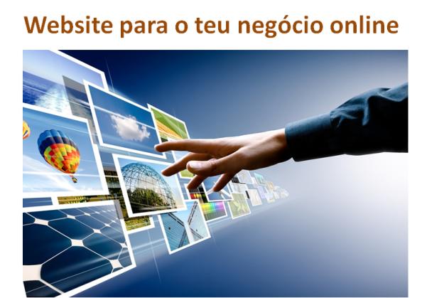 Website para o teu negócio online