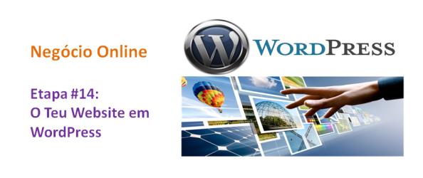 Website em WordPress, imagem de Destaque