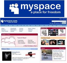 MySpace para sua marca