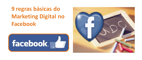 Regras Marketing no Facebook, imagem de destaque