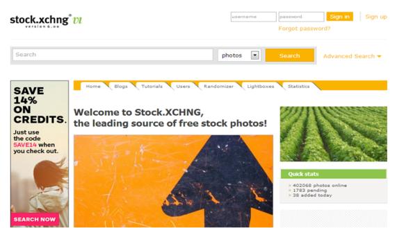 12 Melhores Websites Imagens - Website Stock.XCHNG