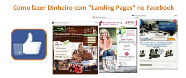 """Como fazer Dinheiro com """"Landing Pages"""" no Facebook"""