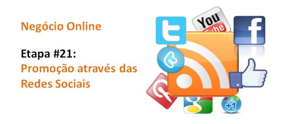 Promoção através das Redes Sociais, imagem de destaque