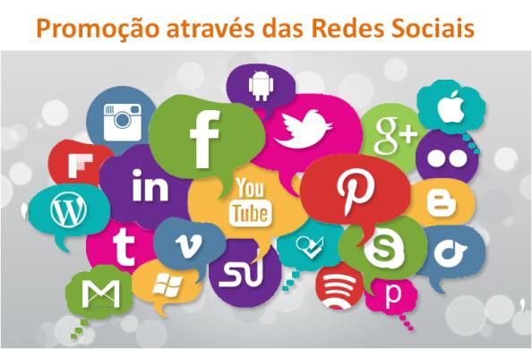 Promoção através das Redes Sociais para negócio online