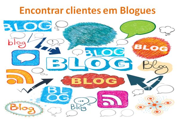 Encontrar clientes em Blogues para o teu negócio online