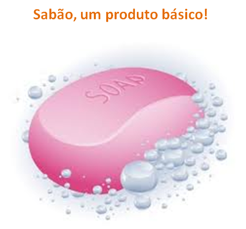 Sabão, um produto básico