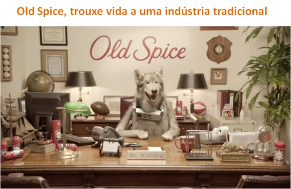 Old Spice trouxe vida a uma indústria tradicional