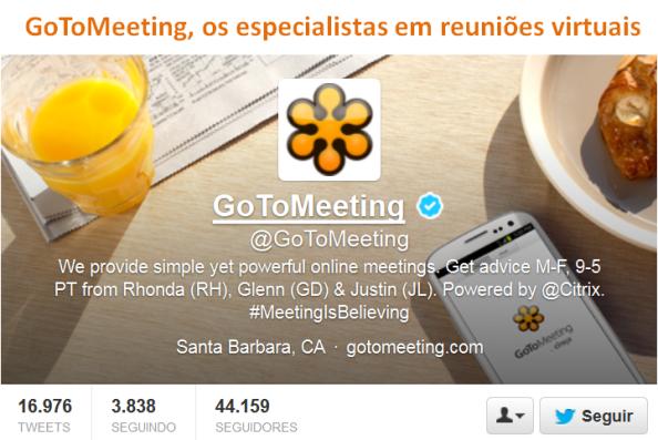 GoToMeeting, os especialistas em reuniões virtuais