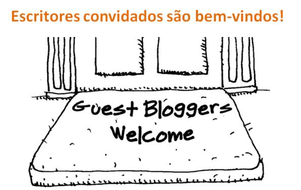Escritores convidados são bem-vindos - negócio online