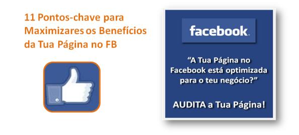 Maximizar beneficios página no Facebook para negócio online, imagem de destaque