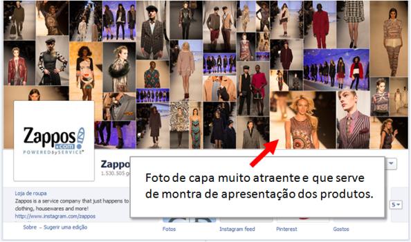 Escolhe Foto Capa para Página no Facebook