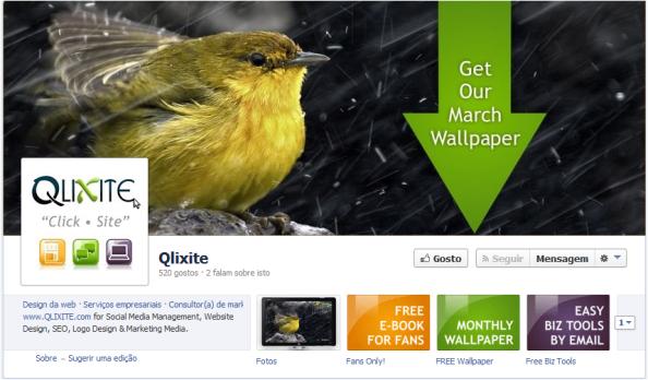 Foto de Capa Facebook Qlixite Marketing Solutions