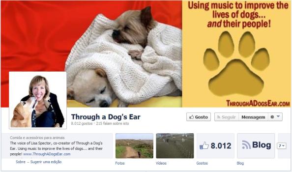 Foto de Capa Facebook Through a Dog's Ear