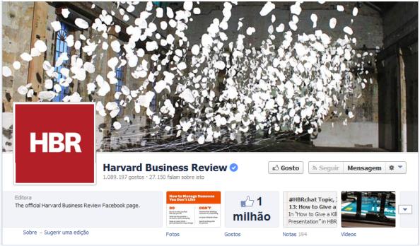 Foto de Capa Facebook Harvard Business Review