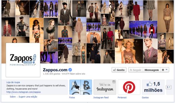 Foto de Capa Facebook Zappos