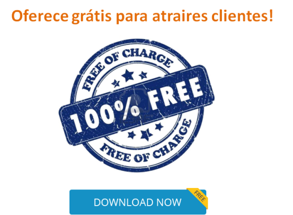 Oferecer grátis para atrair clientes negócio online