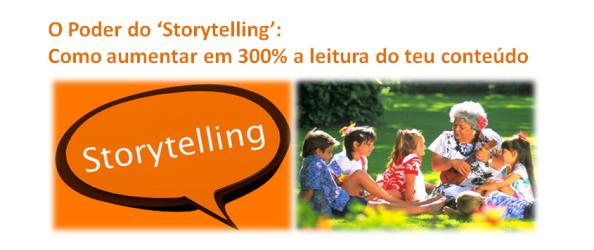O Poder do Storytelling, imagem de destaque