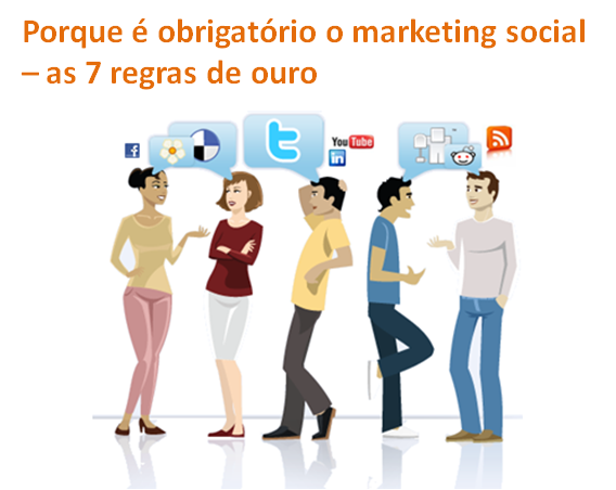 Porque é obrigatório o marketing social, Marketing Social, Estratégia de marketing, Rede Social, Vantagens das redes sociais