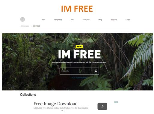 Banco de Imagens Grátis: IM Free