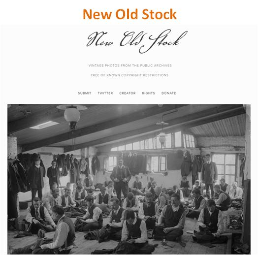 Banco de Imagens Grátis: New Old Stock