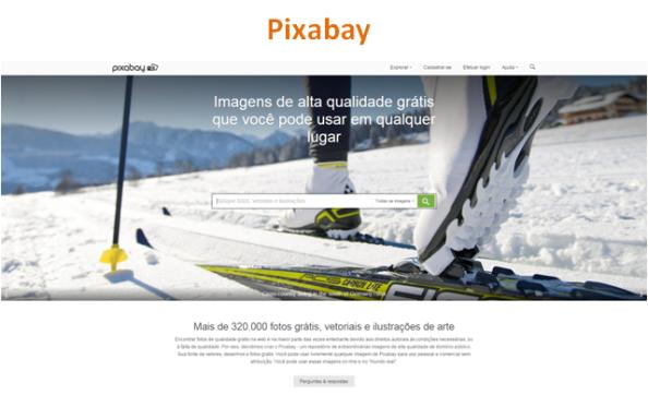 Banco de Imagens Grátis: Pixabay